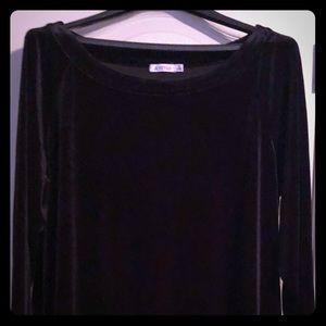 Just Fab Velvet Shirt